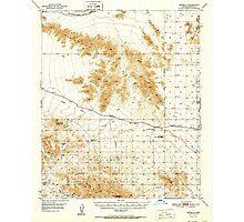 USGS TOPO Map Arizona AZ Estrella 314586 1951 62500 Photographic Print