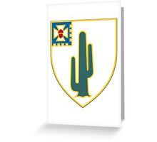 35th Infantry Regiment Greeting Card