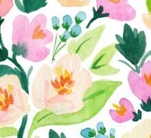 Watercolor Florals Sticker