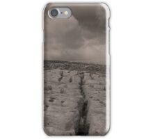 The unique landscape of the Burren iPhone Case/Skin
