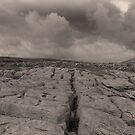 The unique landscape of the Burren by miradorpictures