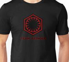 Star Wars First Order- Team Asshole Unisex T-Shirt