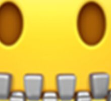 Emoji Lips Sealed Sticker