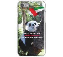 Panda-Souvenir direkt aus Abu Dhabi - ohne das Haus zu verlassen! iPhone Case/Skin