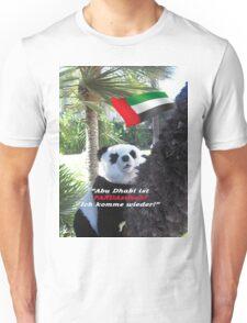 Panda-Souvenir direkt aus Abu Dhabi - ohne das Haus zu verlassen! Unisex T-Shirt