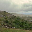 Dry stone walls of the Burren by miradorpictures