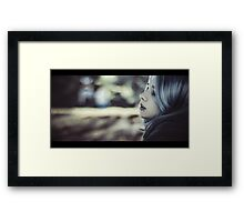 beautiful vampire Framed Print