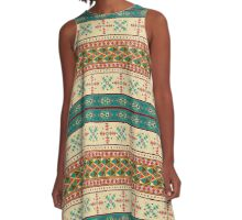 Navaho North American Indian design A-Line Dress