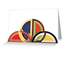 Colours - 1 Greeting Card