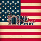 LOVE - Stars & Stripes by ifourdezign