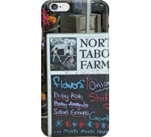 North Tabor Farm iPhone Case/Skin
