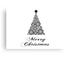 Merry christmas - minimalistic design Canvas Print