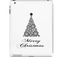 Merry christmas - minimalistic design iPad Case/Skin