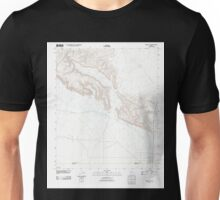 USGS TOPO Map Arizona AZ Midway SW 20111025 TM Unisex T-Shirt
