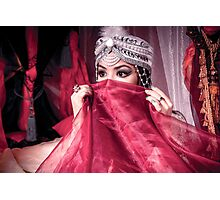 Girl with eastern style Photographic Print
