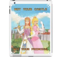 Not Your Castle iPad Case/Skin