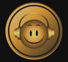 Good Music Gold Symbol Kids Tee