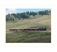 Scenic New Mexico by steam train Art Print