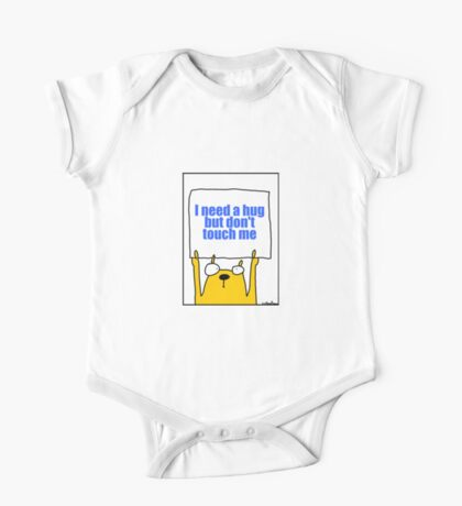 I need a hug but don't touch me One Piece - Short Sleeve