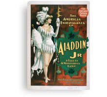 Performing Arts Posters Aladdin Jr a tale of a wonderful lamp 0004 Canvas Print