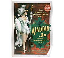 Performing Arts Posters Aladdin Jr a tale of a wonderful lamp 0004 Poster