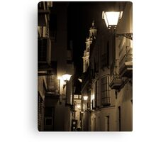 Night in Seville  Canvas Print