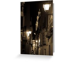 Night in Seville  Greeting Card