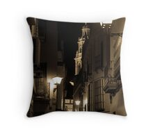 Night in Seville  Throw Pillow