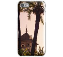 A winter sunset in Spain - Seville iPhone Case/Skin