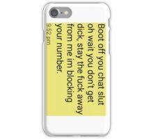 Ive got head lice phone case iPhone Case/Skin