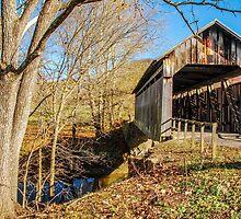 Ringos Mills Covered Bridge by Mary Carol Story