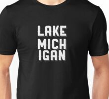 Lake Michigan (White) Unisex T-Shirt