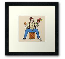 Nathan Drake - The Relics Hunter Framed Print
