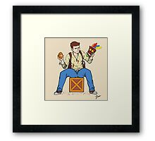 Nathan Drake - The Relics Hunter Framed Print