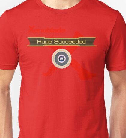 Huge Succeeded - Xenoblade Chronicles X Red Unisex T-Shirt