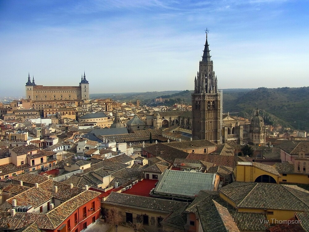 The Roofs of Toledo by vivsworld