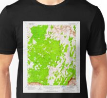 USGS TOPO Map Arizona AZ Paria Plateau 314873 1954 62500 Unisex T-Shirt