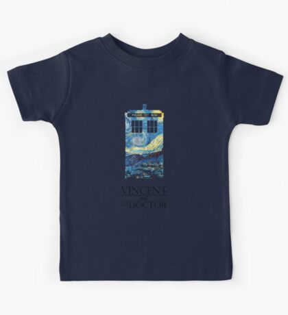 """""""Vincent and the Doctor"""" Kids Tee"""