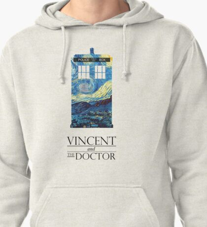 """Vincent and the Doctor"" Pullover Hoodie"