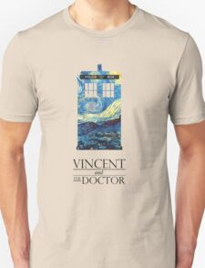 """Vincent and the Doctor"" Unisex T-Shirt"
