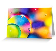 Oil & Water 6 Greeting Card