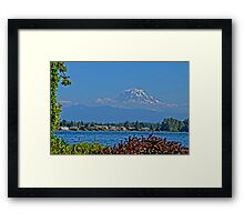 Mountain Pop Framed Print