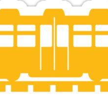 Animal Crossing train (large) Sticker