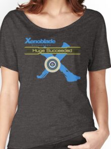 Huge Succeeded - Xenoblade Chronicles X Blue Women's Relaxed Fit T-Shirt
