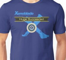 Huge Succeeded - Xenoblade Chronicles X Blue Unisex T-Shirt