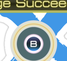 Huge Succeeded - Xenoblade Chronicles X Blue Sticker
