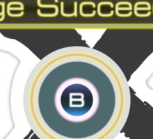 Huge Succeeded - Xenoblade Chronicles X Black Sticker