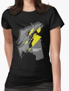Fragmental Memory /// Womens Fitted T-Shirt