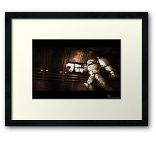 Space Hulk Framed Print