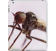 Insect Extreme Macro Fly With Pollen iPad Case/Skin